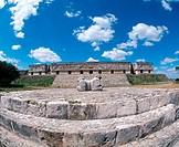 Mayan architecture: ´Palace of Governor´, Uxmal, Yucatan, Mexico