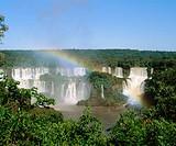 Iguazu Waterfalls, Iguazú National Park. Argentina-Brazil border