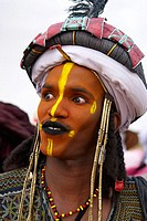 Gerewol, general reunion of West Africa for the Wadabee Peuls (Bororo peul). Every year the Peuls are meeting after one year of transhumance to celebr...