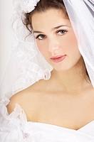 Young bride, portrait