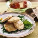 Fish and sweetcorn cakes