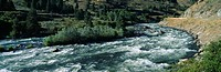White water on Payette River in Nez Perce Indian country