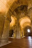 Visigothic chapel of Sta. Mª. de Melque. San Martín de Montalbán. Toledo. Castilla-La Mancha, Spain