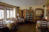 Balthasar, garlic restaurant. Tallinn. Estonia.