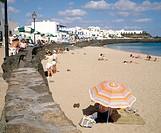 Playa Blanca. Lanzarote. Canary Islands. Spain