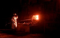 italy, valle d´aosta, cogne steelworks