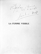 Salvador Dali ´The Visible Woman, signed by Luis Bunuel´, 1930  Illustrated and published by the surrealist painter