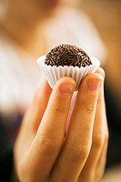 chocolate bouchée bite