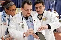 Florida, Miami, Miami Dade College Medical Center Campus, Community Health Fair.