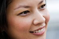 Thailand, Bangkok, Thai woman, close-up