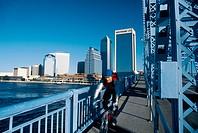 Downtown skyline, Jacksonville. Florida, USA