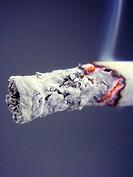tip of a cigaret