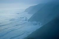 Rocky coast, California