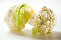 Two cauliflower florets