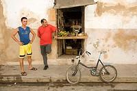 Fruits and vegetable shop. Gibara. Holguín. Cuba.