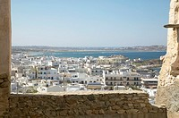 Greece, Naxos, view of the town