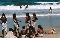 Calangte beach , goa , india