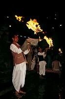 people praying to ganga river, haridwar ,uttar pradesh , india