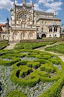 The formal garden. The neo-Manueline Buçaco Palace is one of Europe´s most grandiose smaller palaces. It is now one of the country´s top hotels and on...