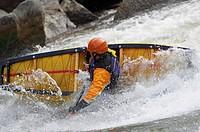 Whitewater Canoeist