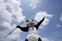 Panda Throwing Javelin
