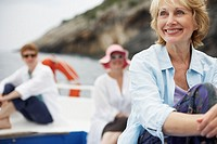 Tourists on Excursion Boat