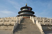 Qinian Hall (means Hall of Prayer for good harvest) in Temple of Heaven. Beijing. China