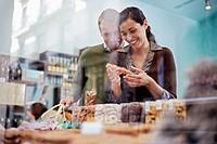 Couple Shopping in Delicatessen