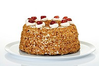 Frankfurt Crown Cake, close-up