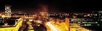 Dublin, Aerial View At Night,
