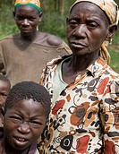 Pygmys. Republic of Burundi.