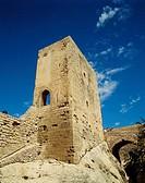 Castle of Santa Barbara, Alicante. Comunidad Valenciana, Spain