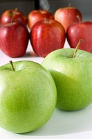 ´Red´ and ´golden delicious´ apples