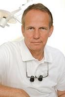 Portrait of a dentist