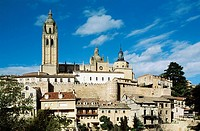 Spain. Segovia. Cathedral.