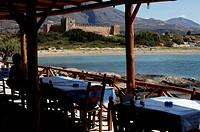 Crete, the castle of Frangokastello