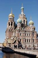 Church of the Resurrection (Church of the Bleeding Savior), St. Petersburg. Russia