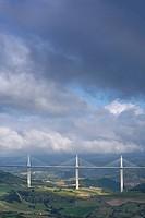 Bridge Millau, Tarn valley, France