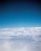 Environment & nature, Sky, View from above clouds,