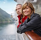 Couple Relaxing on Cruise Ship