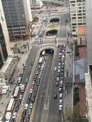Over View, Paulista avenue, São Paulo, Brazil