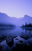 Lake O´Hara at dawn, Yoho National Park, British Columbia, Canada