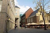 Rennovation of the ´Entre Deux´ shopping mall, designed by Ger Rosier van Arn Meijs Architects, in the heart of the old city uses local materials such...