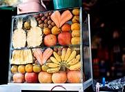 Fruit Stand, Battambang, Cambodia