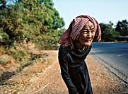 90 Year Old Khmer Woman, Kompong Chhnang, Cambodia