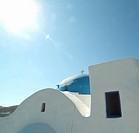 Cross on Building Roof, Greece
