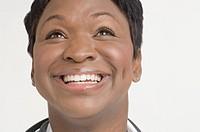 Portrait of doctor smiling