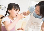 Girl Eating Snacks