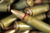 Red-Edged Bullets in Cartridges