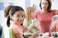 Children in a lesson